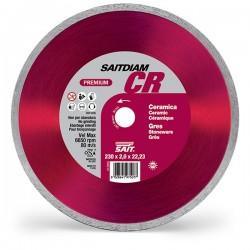 SAIT Abrasivi Saitdiam Corona Continua CR, Premium, per Ceramiche, Gres Porcellanato