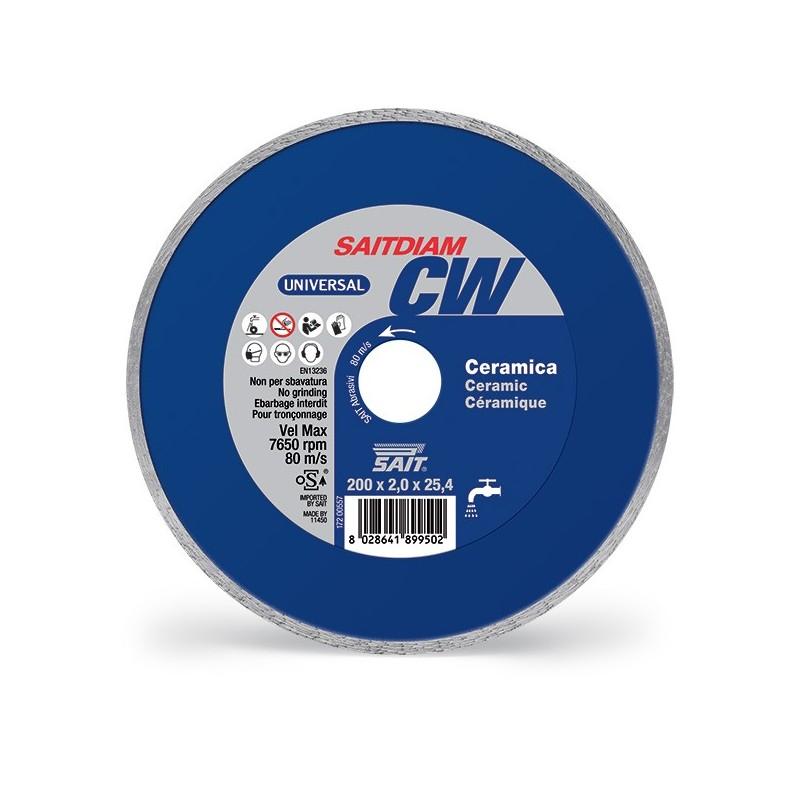 SAIT Abrasivi Saitdiam Continuous Rim CW, Universal, for Ceramics