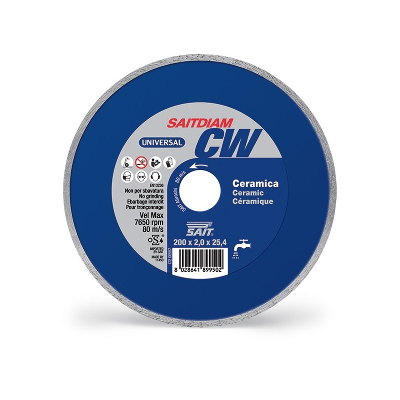 SAIT Abrasivi Saitdiam Corona Continua CW, Universal, per Ceramiche