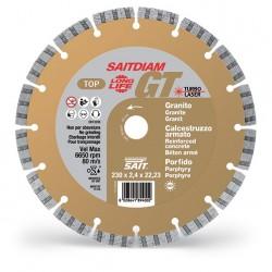 SAIT Abrasivi Saitdiam, Laser GT, Turbo, TOP, pour Granits, Bétons, Porphyre