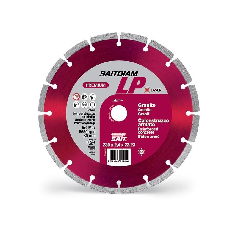 SAIT Abrasivi Saitdiam Laser LP, Premium, per Graniti, Calcestruzzi