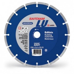 SAIT Abrasivi Saitdiam Laser LU, Universal, pour Matériaux de Construction