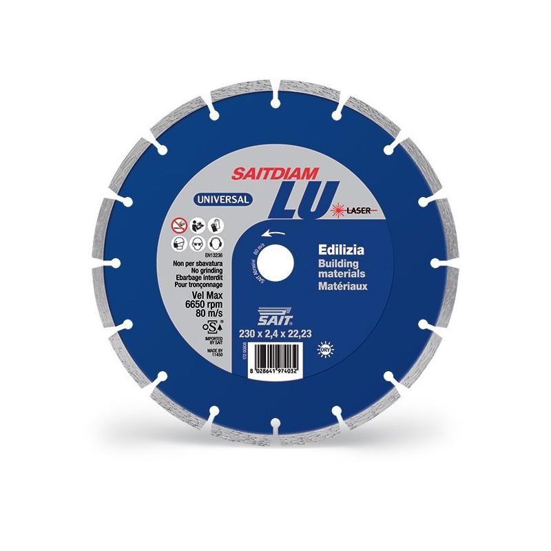 SAIT Abrasivi Saitdiam Laser LU, Universal, for Building Materials