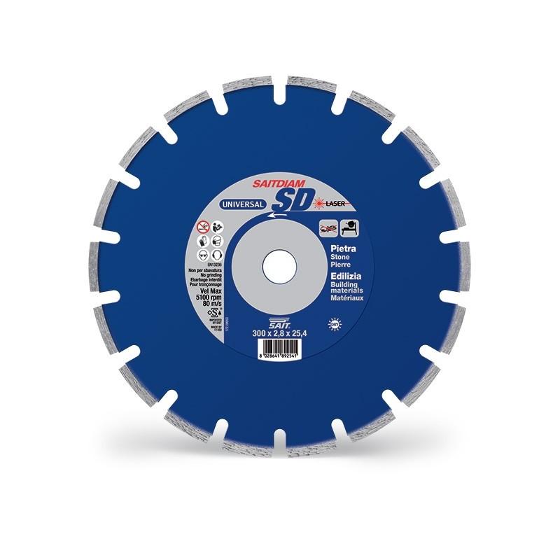 SAIT Abrasivi Saitdiam Laser SD, Universal, pour Pierres, Matériaux de Construction