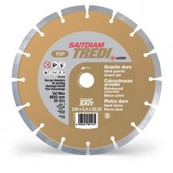 SAIT Abrasivi Saitdiam Corona Continua Laser Tredi, TOP, para Piedras, Granitos, Hormigón