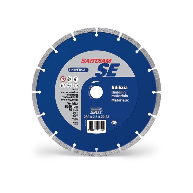 SAIT Abrasivi Saitdiam Laser SE, Universal, para Materiales de Construcción