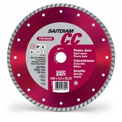 SAIT Abrasivi Saitdiam, Turbo CC, Premium, pour Pierres, Granits, Bétons