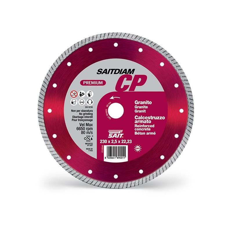 SAIT Abrasivi Saitdiam Turbo CP, Premium, per Graniti, Calcestruzzi