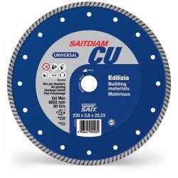 SAIT Abrasivi Saitdiam Turbo CU, Universal, per Materiale Edilizia