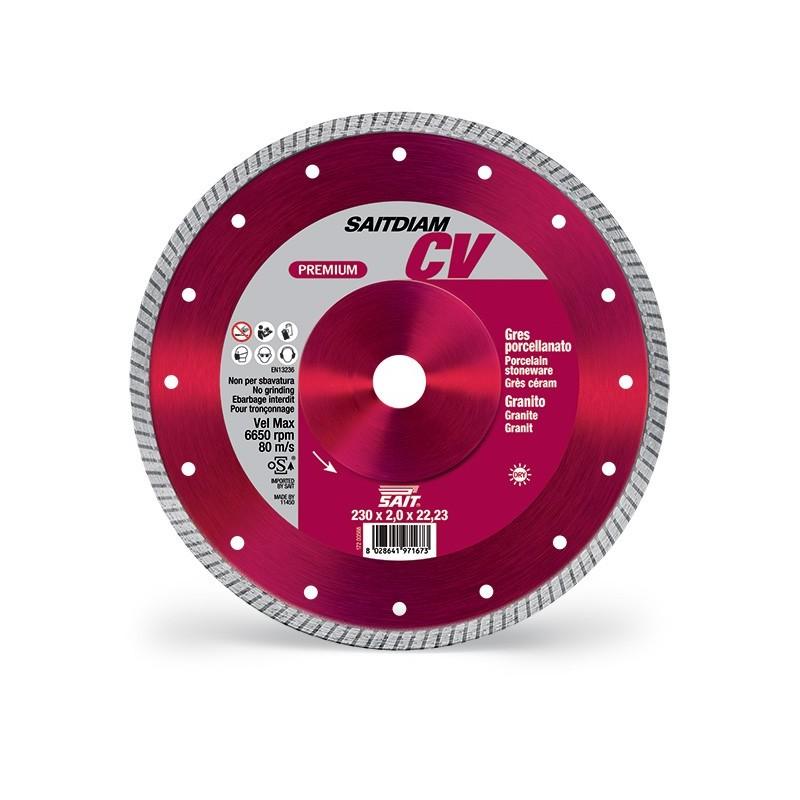 SAIT Abrasivi Saitdiam Turbo CV, Premium, por Granitos