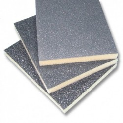 SAIT Abrasivi, Saitfoam-BL, Weicher High-Density-Schleifblock , fur Holz Anwendungen