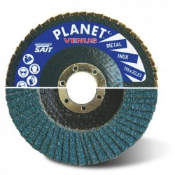 SAIT Abrasivi, Planet ONE VENUS, Abrasive flat flap disc, for Metal Applications