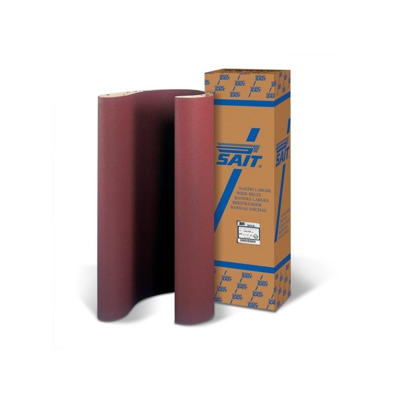 SAIT Abrasivi, NL-Saitac AO-F, Fita de abrasivo em costado de papel, por Madeira Aplicações