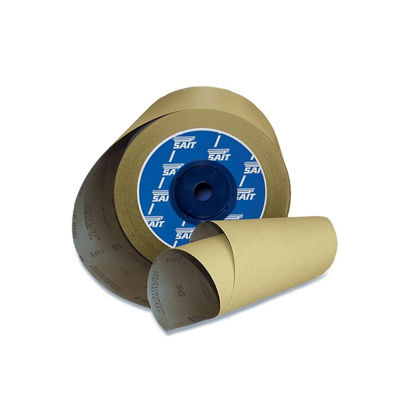 SAIT Abrasivi, RI-Saitac 5G, Industrial abrasive paper roll, for Automotive Applications