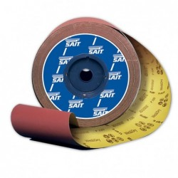 SAIT Abrasivi, Saitac AG-D, Rotolo largo carta abrasiva, per Legno, Carrozzeria, Altre Applicazioni