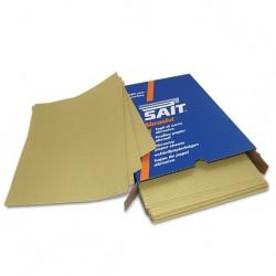SAIT Abrasivi, S-Saitac- 5G, Feuille de papier abrasif, pour Bois, Carrosserie Préconisations