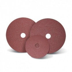 SAIT Abrasivi, Fibre Disc, special aluminium oxide, Filled, Saitdisc 3A Depressed Centre, for Stainless Steels