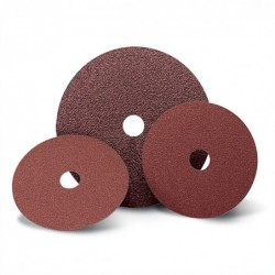 SAIT Abasivi, Disco Fibra, SAITDISC-BS 2A, for Steels, Non-ferrous metals, Carbon steels