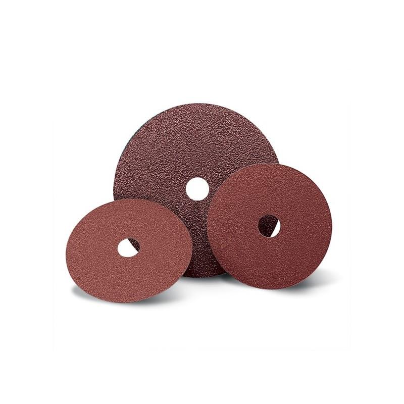 SAIT Abasivi, Disco Fibra, Saitdisc 2A Bombado, para Aceros, Metales no férricos, Aceros al carbono
