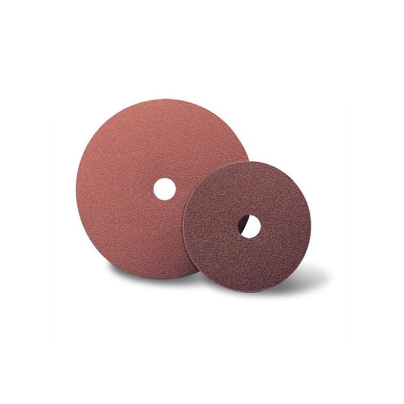 SAIT Abasivi, Disco Fibra, SAITDISC-D 2A, para Aceros, Metales no férricos, Aceros al carbono