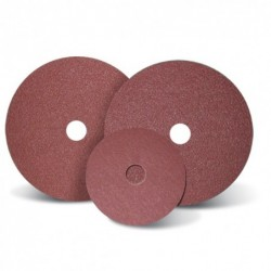 SAIT Abrasivi, Fibre Disc, special aluminium oxide, Filled, SAITDISC-D 3A, for Stainless Steels