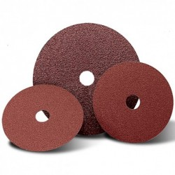 SAIT Abrasivi, Fibre Disc, Zirconia, Top-Filled, SAITDISC-D 3Z, for Stainless Steels