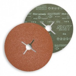 SAIT Abrasivi, Fibre Disc, Zirconia ceramic, SAITDISC-D 7A-S, for Steels