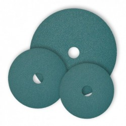 SAIT Abrasivi, Fibre Disc, Abrasive sanding disc, SAITDISC-D 7S, for Ferrous metal, Steels, Carbon steels
