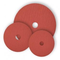 SAIT Abrasivi, Disco de fibra, Corindón Cerámico, Saitdisc 9S, para Aceros Inox