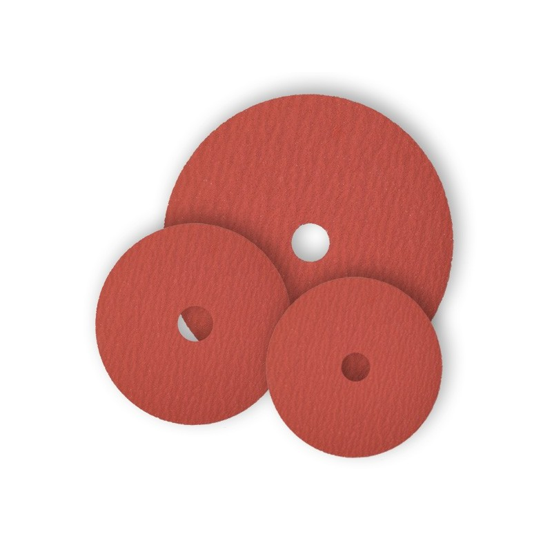 SAIT Abrasivi, Disco de fibra, Corindón Cerámico, SAITDISC-D 9S, para Aceros Inox