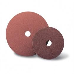 SAIT Abasivi, Disco Fibra, SAITDISC-D AO, para Aluminio, Metales no férricos, Metales, fibra de Vidrio, Madera