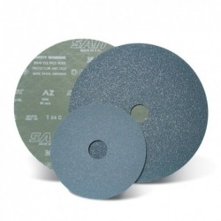 SAIT Abrasivi, Fibre Disc, Zirconia, SAITDISC-D AZ, for Ferrous metal, Steels, Carbon steels