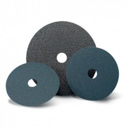 SAIT Abrasivi, Fibre Disc, Zirconia, SAITDISC-D Z , for Ferrous metal, Steels, Cast iron, Carbon steels