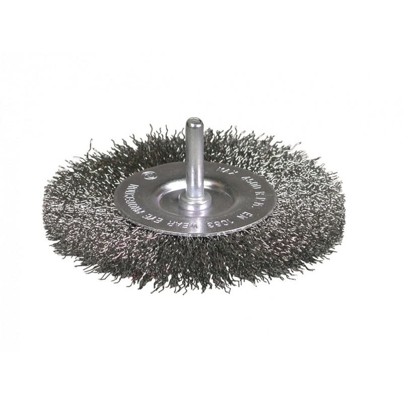SAIT Abrasivi, SE-CR, Wheel Brush, for Metal Applications