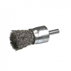 SAIT Abrasivi, SE-FR, Cylinder Brush with Shank, for Metal, Automotive Applications