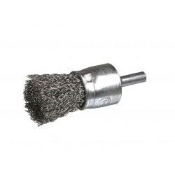 SAIT Abrasivi, SE-FR, Spazzola frontale con gambo, per Metallo, Carrozzeria  Applicazioni