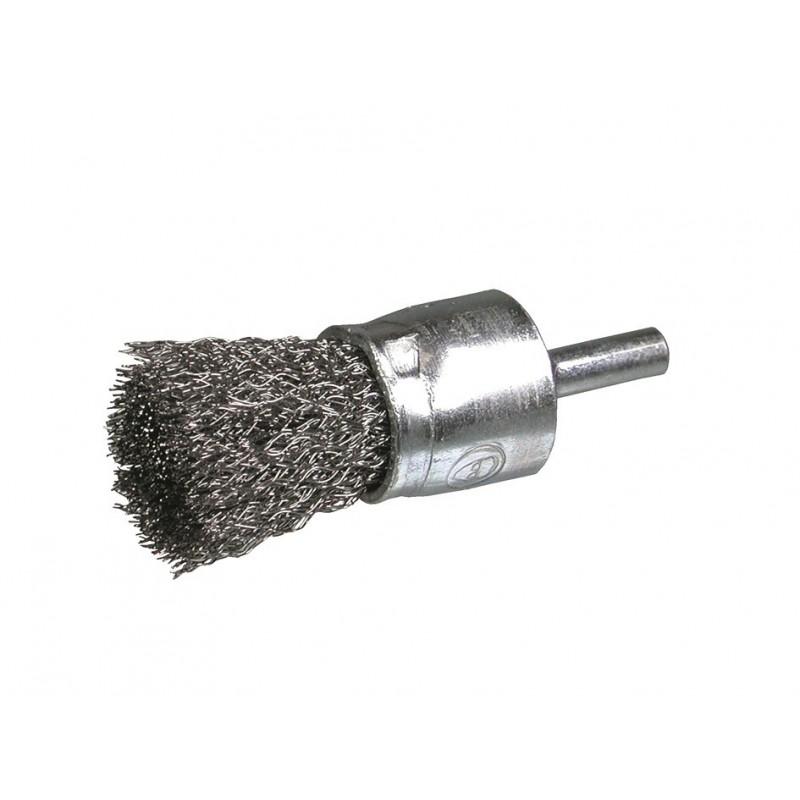 SAIT Abrasivi, SE-FR, Cylinder Brush with Shank, for Metal, Automotive Applications