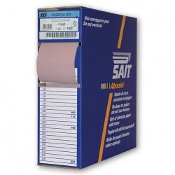 SAIT Abrasivi, RI-Saitac-Sof 4V, Rollo industrial de papel abrasivo sobre esponja, para Aplicaciones Carroceria
