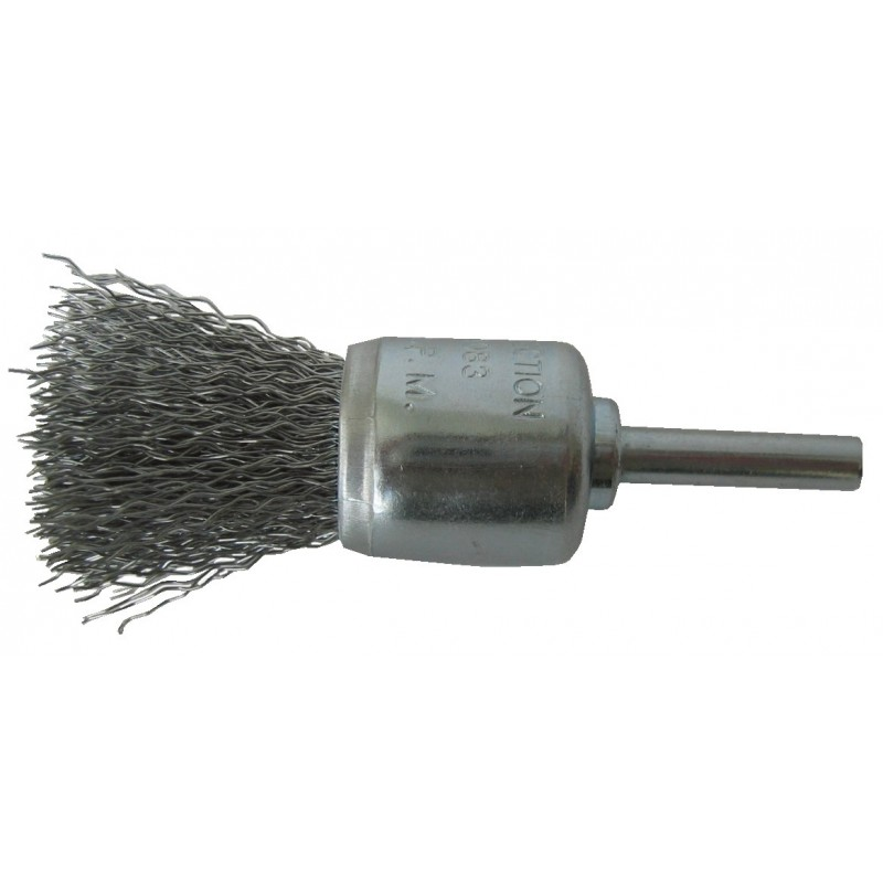 SAIT Abrasivi, SG-FR Crimped Wire, Cylinder Brush, for Metal, Automotive Applications