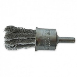 SAIT Abrasivi, SG-FR Knotted Wire, Wheel Cylinder Brush, for Metal, Automotive Applications