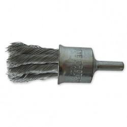 SAIT Abrasivi, SG-FR DRAHTZÖPFE GEDREHT, Pinselbürste mit Schaft, fur Metal, Automotive Anwendungen