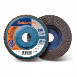 SAIT Abrasivi, Winner, Saitlam-PN C, Abrasive double flap disc, for Metal Applications, Building Materials Applications