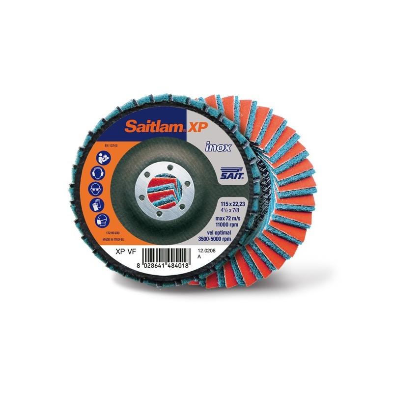 SAIT Abrasivi, Saitlam-XP, Disco abrasivo doppia lamella, per Applicazioni Metallo