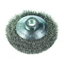 SAIT Abrasivi, SM-CO filo ondulato, Spazzola circolare conica, per Carrozzeria Applicazioni