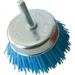 SAIT Abrasivi, SN-TA con eje, Cepillo tipo taza con eje, para Metal, Madera, Carroceria, Otras Aplicaciones