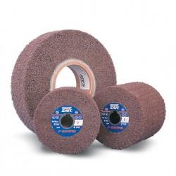 SAIT Abrasivi, F-Saitpol, Roues à lamelles avec trou en tissu non tissé, pour Metal Preconisations