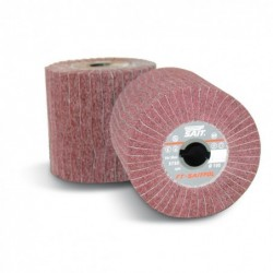 SAIT Abrasivi, FT-Saitpol, Flap wheels in non-woven cloth, for Metal Applicatons
