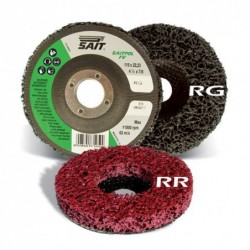 SAIT Abrasivi, FV-Saitpol, Rigid abrasive discs (strip), for Automotive Applicatons
