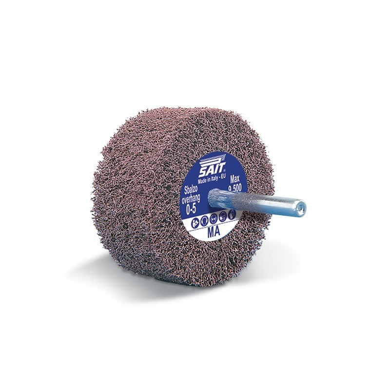 SAIT Abrasivi, G-Saitpol, Wheel on shank in non-woven web, for Metal Applicatons