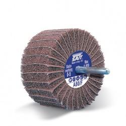 SAIT Abrasivi, GT-Saitpol, Roues à lamelles en toile et tissu non tissé, pour Metal Preconisations